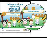 """Müjde!!! Çocuklara Yönelik Diyabeti Öğreniyorum DVD Eğitim Setinin 3.DVD'si """" İnsülin Uygulaması """" Çıktı!!!"""