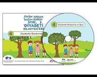"""Çocuklar Diyabeti Eğlenerek Öğrensin! Çocuklara Yönelik Diyabeti Öğreniyorum DVD Eğitim Setinin 4.DVD'si """"Diyabette Beslenme ve Spor"""" Çıktı!!!"""